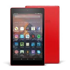 """Amazon Fire HD 8 Tablette avec Alexa 32 Go 8"""" HD 2017 7th Génération-Punch Rouge"""