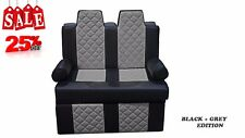 Rock and roll bed upholstered 3/4 T4 T5 bongo transit vivaro camper vito B+grey