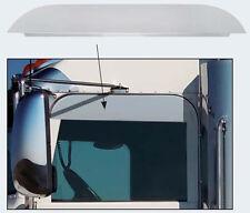 "Peterbilt 379/386/389 2005+ Window Trim, Stainless Steel, 5"", Chopped - Pair"