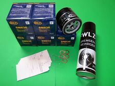 5x Ölfilter + Bremsenreiniger VW Polo (6N1, 6N2, 6K) 1.0-1.6 Benziner