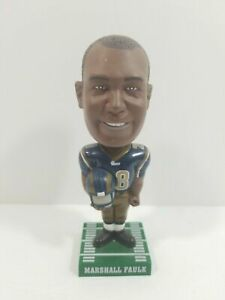 "2002 Hardee's Marshall Faulk Bobble Head Bobblehead St Louis Rams  7"" Tall"