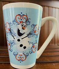 Olaf Frozen Flowers Hearts Tall Coffee Mug Cup MTY International