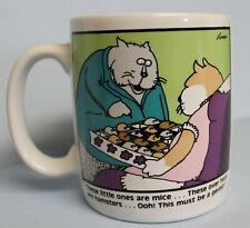 The Far Side 1982 Mice Hamster Gerbil Cartoon Coffee Mug Gary Larson EUC