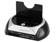 "2.5""/3.5""  SATA HDD Hard Drive Disk USB 3.0 Dock Docking Station Card Reader"