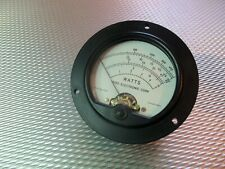 Bird 4304A Thruline 20Ua Wattmeter Element / Slug Reading Meter Face