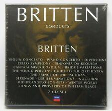 Benjamin Britten Conducts Britten ~ NEW 7-CD Box Set (Nov-2006, Decca)