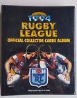 1994 Rugby League Collector Cards NSWRL Set Folder Gold Cards Redemption Cards