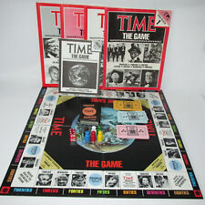 Time Magazine The Board Game 8000 Questions Trivia 1983 Complete