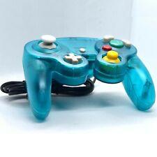 Blue Transparent Gamecube Controller