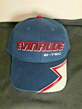 Johnson Evinrude New OEM E-TEC Navy Moisture Wick Baseball Cap Hat