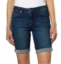 Calvin Klein Women's Size 8 Shorts Jean City Short Knee Length Inkwell Dark Wash