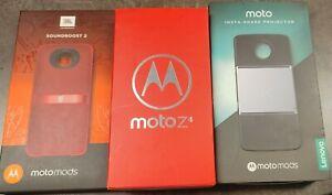 Motorola Moto Z4 - 128GB - Flash Gray with MOTO MODS *READ DESCRIPTION*