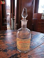 """A VINTAGE LOOK GLASS FRENCH PERFUME BOTTLE, """"DOCTEUR FLORR"""", LOVELY GIFT"""