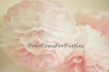 Ombre Pom-pons Seidenpapier Pom Poms Geburtstag Hochzeitsdeko - Rosa Pink