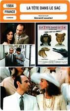 FICHE CINEMA : LA TETE DANS LE SAC Marchand,Berenson,Lauzier1984 Led By the Nose