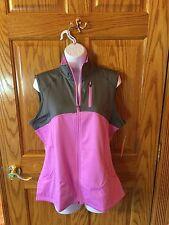 Women's Tek Gear Sport Vest. Pink/Grey. Size Large NWT