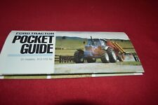 Ford Tractor Guide For 1987 Brochure AMIL15