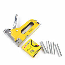 3 In1 Heavy-Duty Staple Gun Door/T/ U-Shape Nails  Stapler  Nailer With 400 nail