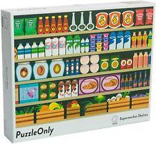1000 Piece Food Puzzle - PuzzleOnly - Supermarket Shelves - Random...