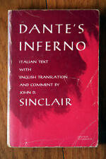 DANTES INFERNO Italian Text English Translation John Sinclair 1974 DIVINE COMEDY