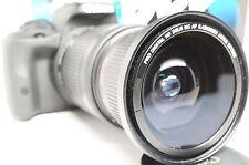 Ultra Wide Angle Macro Fisheye Lens for Canon Eos Digital Rebel  & EF 24-85 USM
