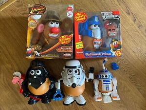 Mr Potato Head Indiana Jones, Optimus Prime, Vader, Storm Trooper, R2D2