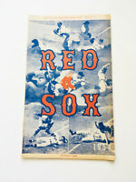 Rare 1954 Boston Red Sox VS Chicago Official Baseball Program and Score Card