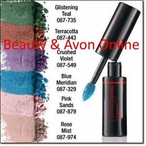 Avon 12 Hour Extra Lasting Eyeshadow 0.053 oz. Lot of 2  Glistening Teal K601