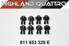Audi ur quattro / coupe / 80 / 90 GENUINE Door clips x8 for slot seal 811853329E