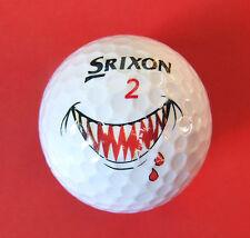 Pelota de golf con logo-vampiro/dentaduras-golf Performance Center hamburgo-logotipo Ball