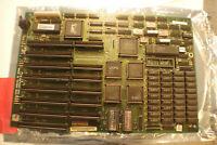 VINTAGE 286 AT motherboard 640kb ram AMD 286 10MHz CHIPS  ✔️TESTED
