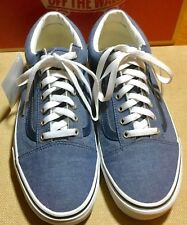 Vans Old Skool Acid Denin-Blue w/White outsoles Mens Sz: 10.5 USED 3 DAYS 296