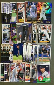 Todd Helton 34 Card Lot Nice Mix See Scans MLB Baseball