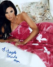 Jayde Nicole Signed Photo 8x10 #97 Playboy Playmate of the Year 2008 Centerfold
