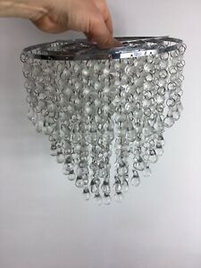 Ceiling Lamp shades, glass Beads, modern Chandelier style