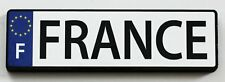 France EU License Plate Wood Fridge Magnet