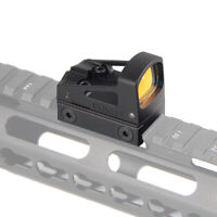 RMS Mini Red Dot Reflex Sight Scope w/ Ventilated Mounting for Glock Pistol