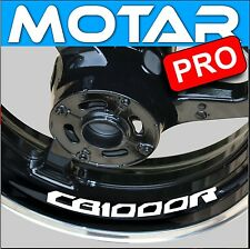 4 STICKER LISERET JANTE CB 1000 R CB1000R MOTO AUTOCOLLANT 40 couleurs au choix