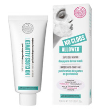 Soap And Glory No Clogs Allowed Super Self Heating Deep Pore Detox Mask 100ml