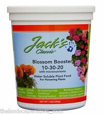 JR Peters Jacks Classic Blossom Booster 10-30-20 1.5 lb. Plant Food Fertilizer