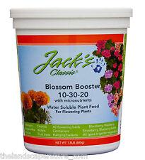 JR Peters Jacks Classic 10-30-20 1.5 lb. Blossom Booster Plant Food Fertilizer