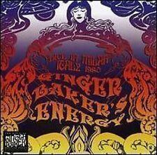 Ginger Baker's ENERGY - Live In Milan ITALIA 1980 - NUOVO