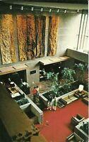 "Corning NY ""Lobby of The Corning Hilton Inn Luxury Hotel"" Postcard New York"