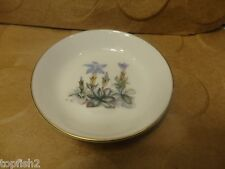 Royal Worcester Pin or Trinket Dish, Floral Pattern, #51, England (Used/EUC)