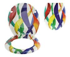 Articles et textiles multicolores en plastique pour la salle de bain