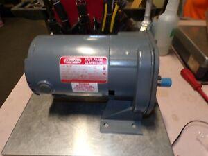 NEW DAYTON 1/4 HP AC SPLIT PHASE GEARMOTOR 12 RPM OUTPUT 115 VAC 1 PHASE 5K934B