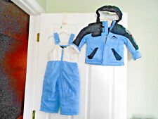 Zero Xposur Jacket Bib Snow Pants Set Snowsuit Toddler Boys Size 12 Months
