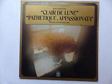 BEETHOVEN Clair de lune , pathétique , appassionata FRANCOIS 05510959