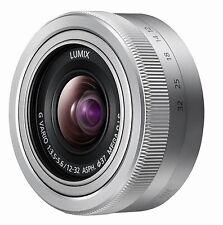 Panasonic Lumix G Vario 12-32 mm OIS Neuware  vom Fachhändler  silber  ( bulk )