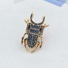 Scarab Beetle Insect Enamel Pin. Badge/Brooch Vintage/boho/blogger Accessory